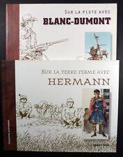 Sur la piste avec Blanc-Dumont, Sur la terre ferme avec Hermann EO TBE