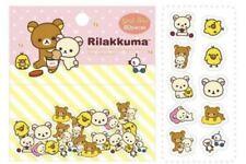 NEW Rilakkuma Sticker Sack Pack Kawaii Japan. 3 Sets. 80 Pcs Each