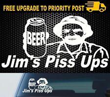 Car 4x4 Patrol Hilux Navara Triton Landcruiser Funny Camping YTB Beer Sticker