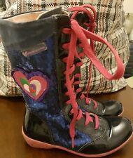 Amazing Agatha Ruiz Dr La Prada Boots Size 32 (13)