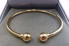 New 9ct Gold Hollow Torque Bangle  3.9 grams