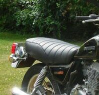 SUZUKI GN 400  1980-82 Custom Made Motorcycle Seat Cover