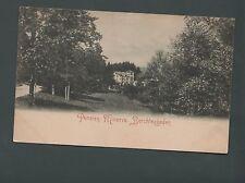 Pension Minerva Berchtesgaden unused vintage postcard  ref ST14