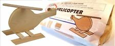 Home Depot Kid Workshop Wood Helicopter Kit Build Learn Project Stocking Stuffer