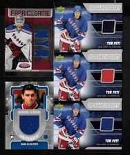 NEW YORK RANGERS YOUNG GUNS ROOKIE JERSEY AUTOGRAPH NHL HOCKEY CARD SEE LIST