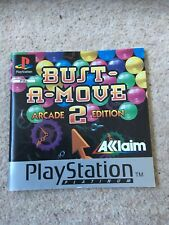 Playstation 1 Instruction Manual Booklet Only Bust A Move 2