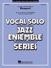 Respect Vocal Solo Jazz Ensemble Series NEW 007500095
