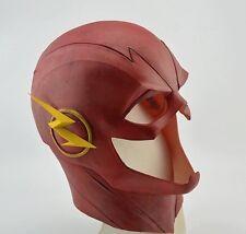 CW The Flash Barry Allen Cowl Mask Cosplay Helmet