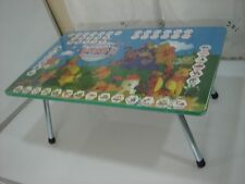 """large multi purpose use wooden folding table kids learning table size 18"""" x 30"""""""