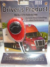 RK-56 DRIVERS ROAD PRODUCT RUBBERIZED MIC,CLEAR AUDIO,TRUCK DRIVERS CHOICE!!!