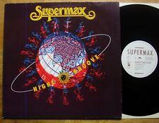 """Supermax - Nightgroove 12"""" MAXI - GER 1990 - Hansa 613 309 Cosmic Disco TOP Mint"""