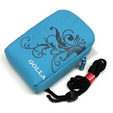 Soft Padded Pouch Case Blue-04 Pouch Kodak EasyShare M1033 IS M340 M341 M530