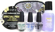 OPI MAKEOVER MAGIC 6pc MINI POLISH SET~Nail Envy RapiDry Chip Skip Remover Wraps