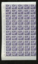 ITALY AMG 1945 4 VALUES in HALF MINT SHEETS..200 stamps