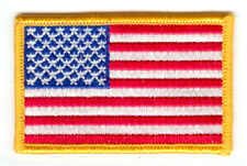 Toppe Toppa PATCH USA AMERICA Bandiera banderina ricamata
