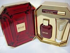 NEW Michael Kors 3-Pc. Sexy Ruby Deluxe Gift Set metallic gold Value $174