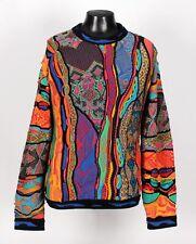 SUPER Bright Abstract COOGI Sweater - XL XXL