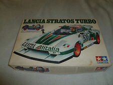 BOXED LANCIA STRATOS TURBO MODEL TAMIYA 1/24 SPORTS CAR SERIES NO SS-2403 CIB >>