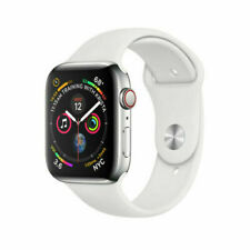 Reloj de Apple serie 4 44mm Gps + Celular 4G LTE-Acero Inoxidable-Plata