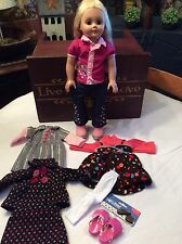 """2004 18"""" Madame Alexander Doll With 3 Extra Outfits #2"""