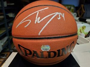 Shaquille O'neal Shaq Signed Basketball Auto Mounted Memories Autograph Lakers