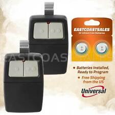 2 For Universal Clicker 375Lm 375Ut Klik1U Garage Gate Door Opener Remote Dip