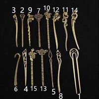 Metal Hair Chopsticks Hair Stick Hairpin Fork Hair Women Accessories Vintage