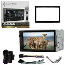 "PRECISION POWER PV-702HB Double Din 7"" CD/DVD/BT/USB/AUX 300W Car stereo"