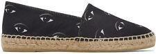BNIB KENZO PARIS Black Eye Print Espadrilles Sneakers Size 38