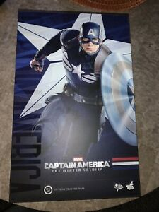 Captain America Marvel Hot Toys 1/6th Figure The Winter Soldier MMS242