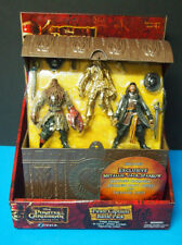 Pirates of the Caribean 3 Pirate Captains Battle Pack Metallic Jack Sparrow