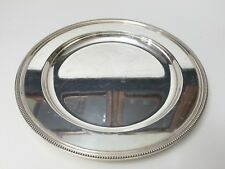 "Vintage Wilcox S.P. Co, International Silver N103 Serving Round Tray, 14"" Dia"