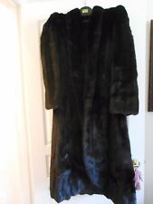 JERRY SORBARA RANCH MINK--GORGEOUS TAILORED COAT--SIZE 6-8