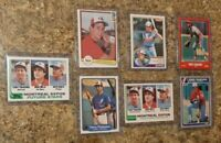 (7) Terry Francona 1982 Topps Fleer Donruss OPC Rookie + 1983 1985 Card Lot RC