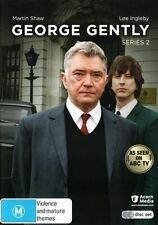 George Gently : Series Season 2 (DVD, 2015, 2-Disc Set) New  Region 4