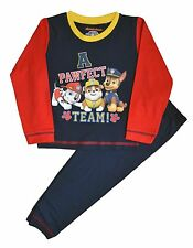 Kids Paw Patrol Boys Pjs Pyjamas Sleepwear Ages 12-18 Months to 6 Years