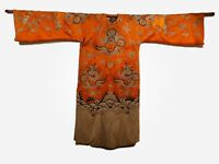 *ORIGINAL COLLECTABLE* 19TH CENTURY CHINESE QING DYNASTY EMBROIDERED OPERA GOWN
