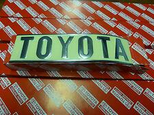 Genuine Toyota Landcruiser FJ40 Rear TOYOTA Badge BRAND NEW NOS HJ45 BJ40 FJ45