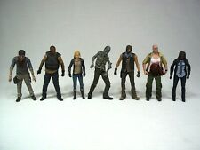 The Walking Dead Series 9 Figure Lot Dale Beth Michonne T-Dog Water Walker Daryl