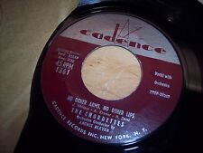 """VG+ The Chordettes No Other Arms No Other Lips/We Should Be 7"""" 45RPM w/ppr slv"""