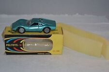 Politoys - M 536 Ferrari Dino near mint in box with headlight cover