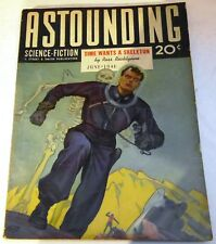 Astounding Science-Fiction - US pulp - June 1941 - Vol.27 No.4 - Theo. Sturgeon