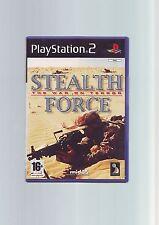 STEALTH FORCE: la guerra al terrorismo-SONY PS2 SPARA-Veloce Post COMPLETO