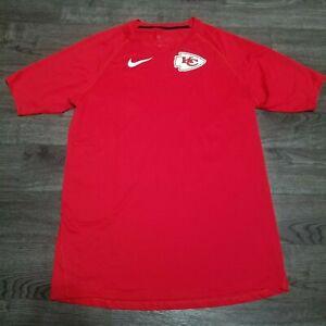 NIKE NFL Pro Kansas City Chiefs Breathe Training Shirt Mens XL Patrick Mahomes