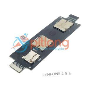 ASUS ZEN 2 5.5 ZE550ML ZE551ML Z008D Z00AD MEMORY SIMCARD SLOT SOCKET FLEX CABLE