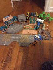 Vintage Tonka Kentoys Village Playset Workshop Park Lot
