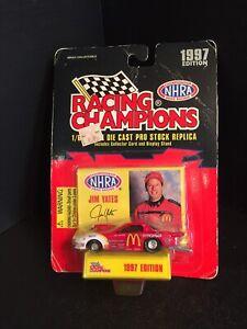 B23) Racing Champions 1:64 JIM YATES 1997 PONTIAC FIREBIRD McDONALD's DRAGSTER
