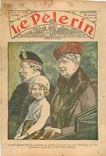 Princess Elizabeth II King George V Mary of Teck London Streets Londres UK 1932