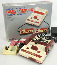 Famicom Console System Boxed HVC-001 FREE SHIPPING Tested Nintendo H7913522 C