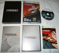 FORZA MOTORSPORT 2 LIMITED COLLECTOR'S EDITION - ORIGINALE ITALIANO XBOX 360